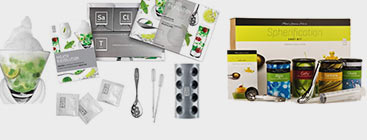 Kits d'initiation à la cuisine moléculaire