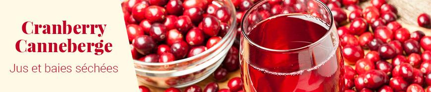 Jus de canneberge cranberry