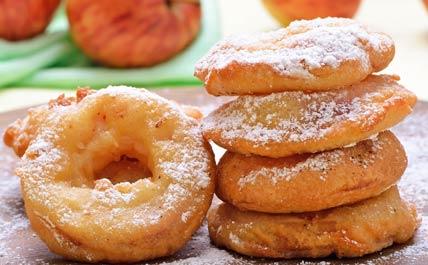 beignets à la pomme