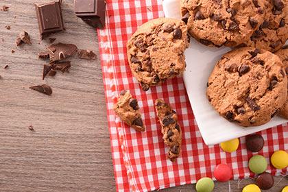 Cookies aux pépites de chocolat de Pâques