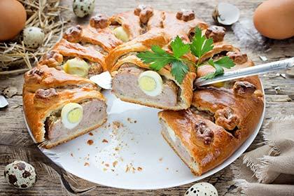 Pâté berrichon de Pâques