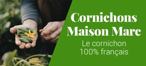 cornichons français Maison Marc