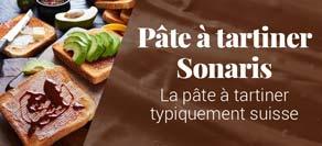 Pâtes à tartiner Sonaris