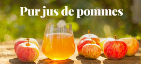 Jus de pomme artisanaux