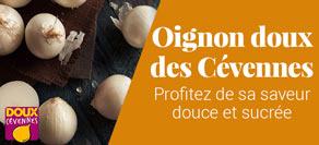 Oignons doux des Cévennes AOP, nouvelle récolte