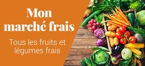 Fruits et légumes frais et bio