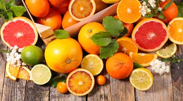 Oranges, citrons et agrumes bio