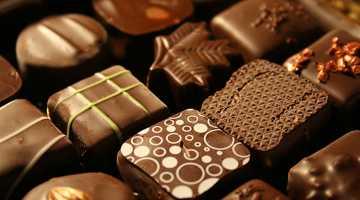 Coffret de chocolat