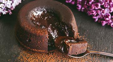 Fondant chocolat maison