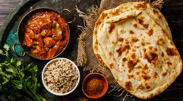 La recette facile des naans indiens