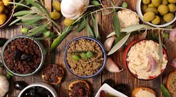 Olives et tapenades
