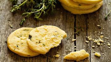 Les délicieux sablés au parmesan italien