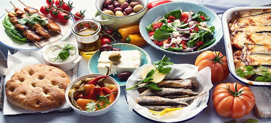 Les produits Grecs