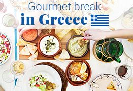 Gourmet break in Greece