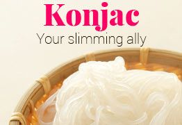 Konjec : your slimming ally