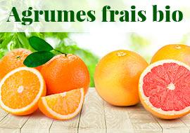 Agrumes frais bio