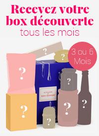 Box découverte 3 ou 6 mois