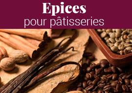 Epices pour pâtisseries