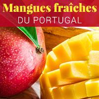 Mangues fraîches du Portugal