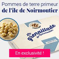 Pommes de terre primeur de l'île de Noirmoutier