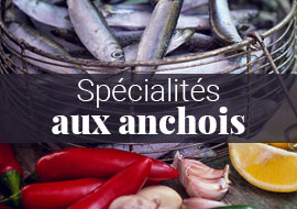 Spécialités aux anchois