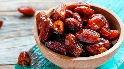 Fresh dates from Iran