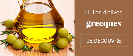 Huiles d'olives grecques