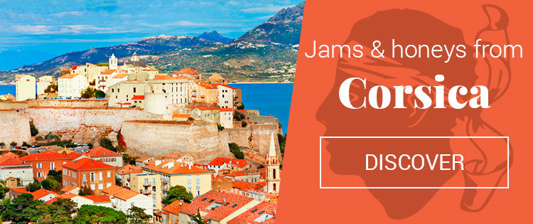 Jams and honeys from Corsica