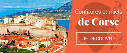 Confiture et miel de Corse