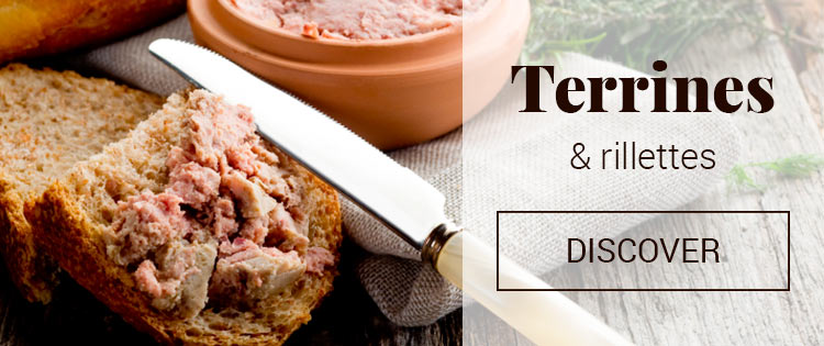 Terrines and rillettes