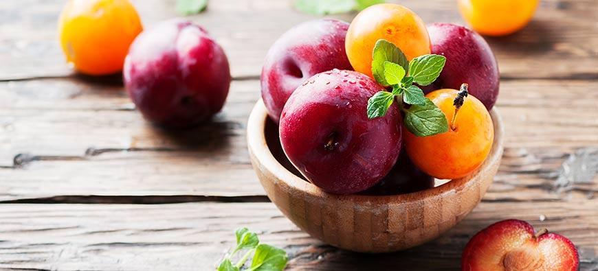Prunes, pruneaux et mirabelles