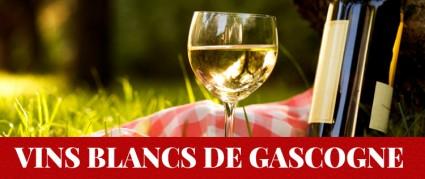 Vins blancs : côtes de Gascogne