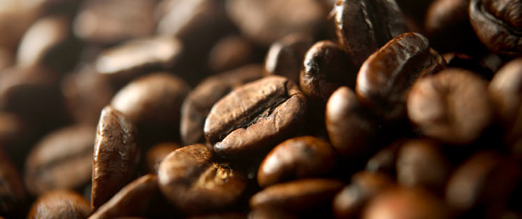 Coffee in beans
