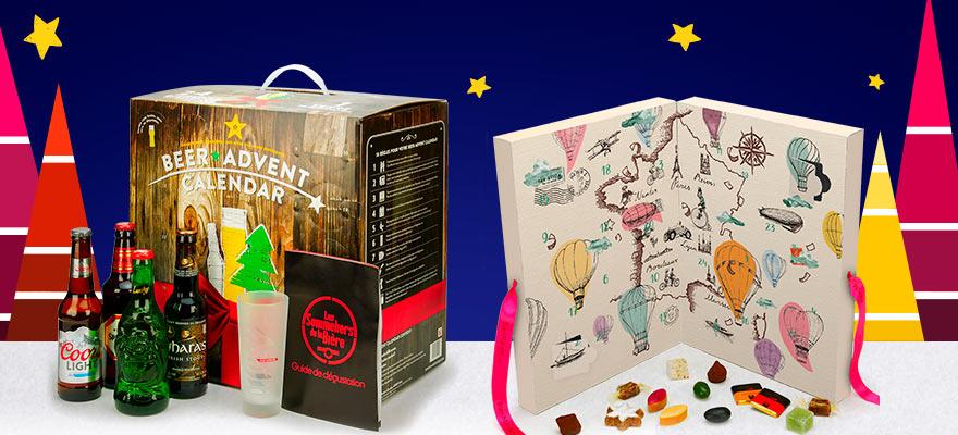 Gourmet advent calendars