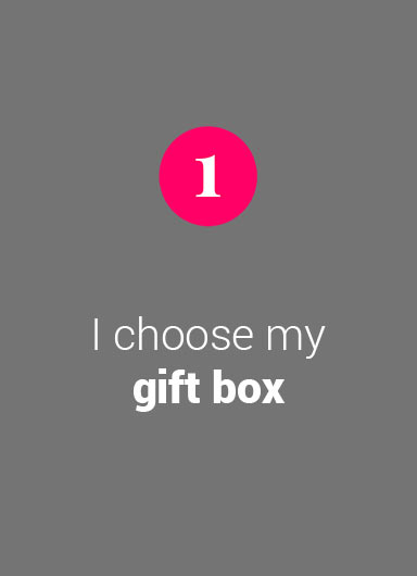 I choose my gift box