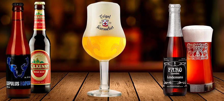 Coffrets de bières belges et du monde