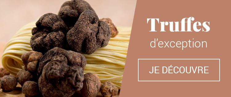 Truffe et spécialités à la truffe