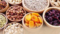Organic dried fruit & purées