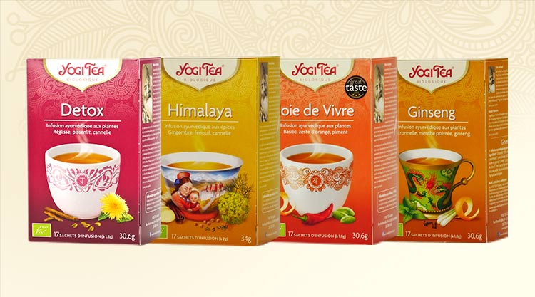 Yogi Tea ayurvedic herbal teas