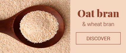 Oat and wheat bran