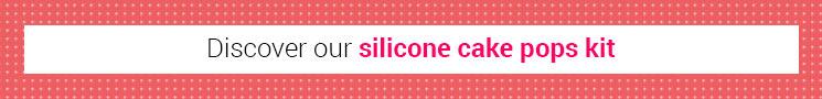 Silicone cake pops kit