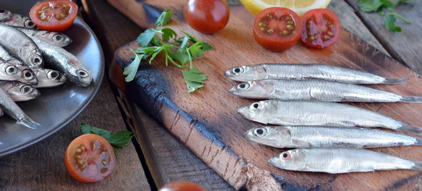 Anchovy specialties