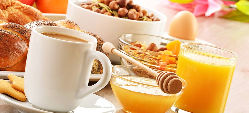 Autour du petit déjeuner