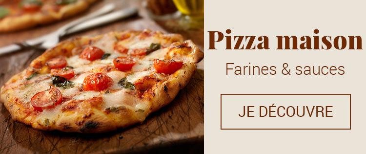 Farines et sauces pour pizza maison