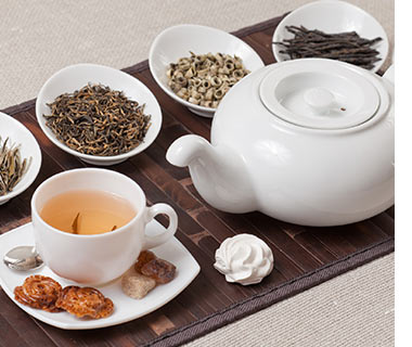 Thés et fleurs de thés