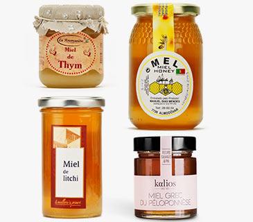 Assorted world's honeys
