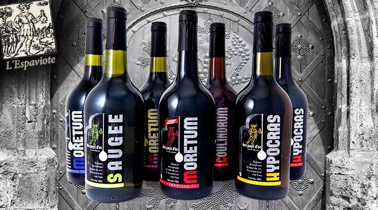 Hypocras & alcools l'Espaviote
