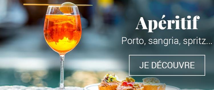 Apéritif : Porto, sangria, spritz,...