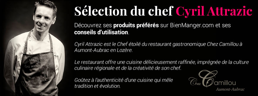 Sélection du chef Cyril Attrazic