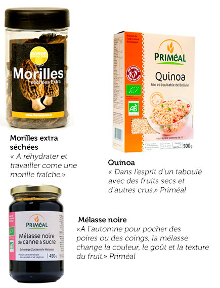 Sélection de produits Jérôme Cazanave